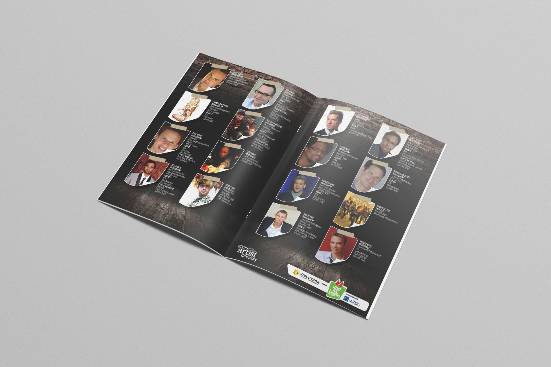 Just For Laughs Artist Directory Brochure 2