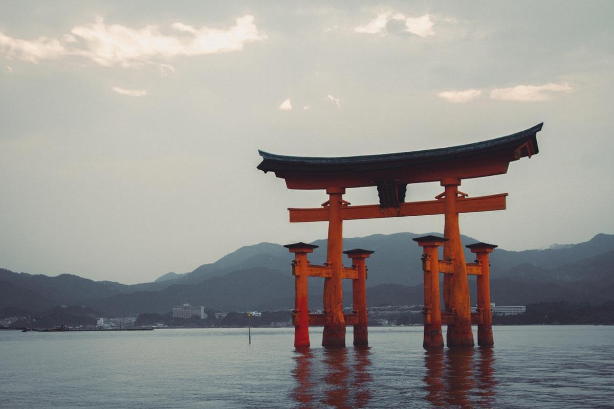 Itsukushima-Shrine-Torii