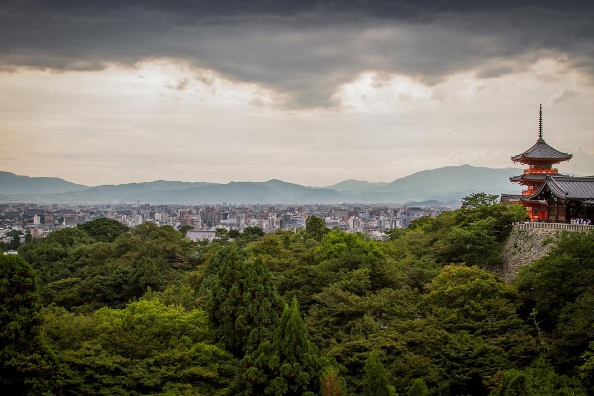 Kyoto-Panorama